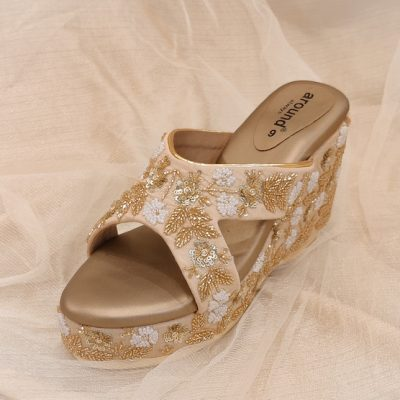 Light weight wedges in custom colours